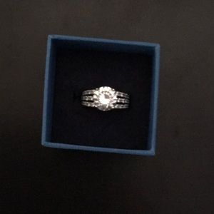 Jewelry - 6.33CTW Dillenium Rhodium Plated Sterling Silver